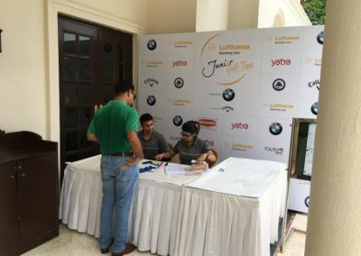 Registration for the 47th Lufthansa Junior Golf Tournament